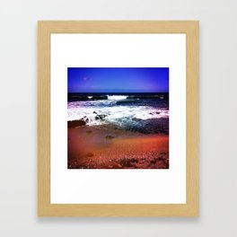 Big Red Framed Art Print