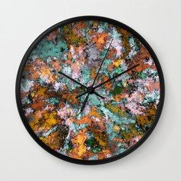 A storm brewing Wall Clock