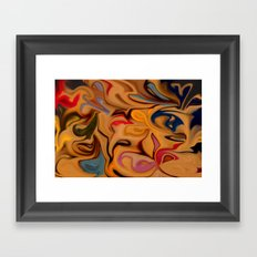 Liquid Colours (1) Framed Art Print
