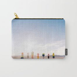 Seven Magic Mountains Sunrise V Carry-All Pouch