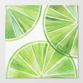 Fresh Lime ~ Summer Citrus Canvas Print