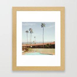 Los Holiday Inn Framed Art Print