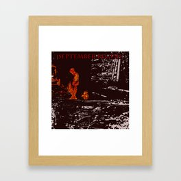 What grows in ashes Framed Art Print