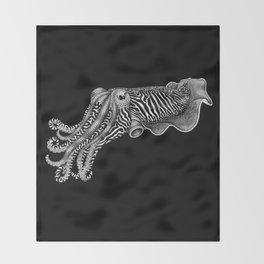 Cuttlefish Throw Blanket