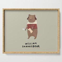 William Shakesbear Serving Tray