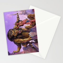 Maid of Mars Stationery Cards