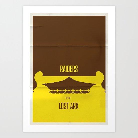 Raiders Art Print