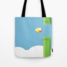 Flappy Bird! Tote Bag