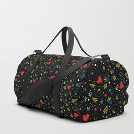 Good Luck Rooster - Just Pattern Duffle Bag