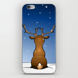 waiting for christmas iPhone Skin