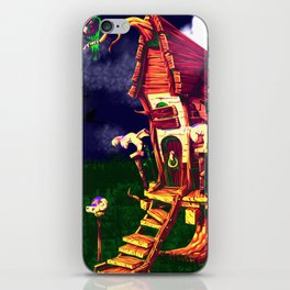 litle witch iPhone Skin