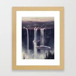 wash&go Framed Art Print