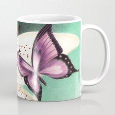 White Lily Mug