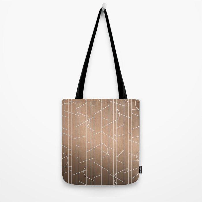 Patternbronze #3 Tote Bag