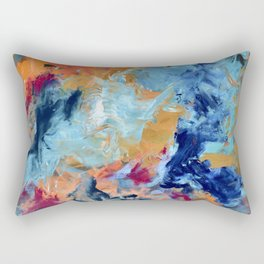 The Colour of Sound No. 1 Rectangular Pillow