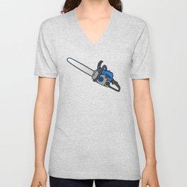 Chainsaw Unisex V-Neck