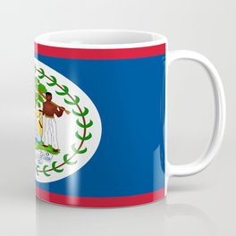 flag of belize-Belice, Belizean,Belize City,beliceno,Belmopan Coffee Mug