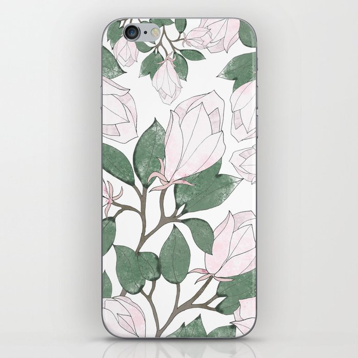 Magnolia. iPhone Skin