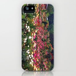 Impresion of a Rose Garden iPhone Case