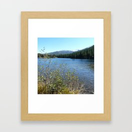 Bear Lake, Rock Mtn National Park Framed Art Print