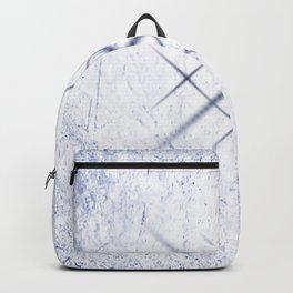 Cross Hatch - Blue Backpack