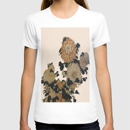 Hokusai, great flowers T-shirt