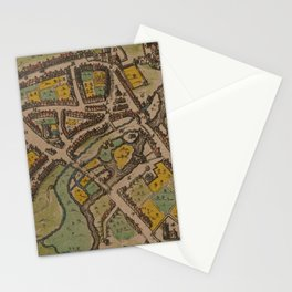 Vintage Map of Reading England (1611) Stationery Cards