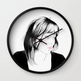 Léa Seydoux - Melancholia Serie Wall Clock