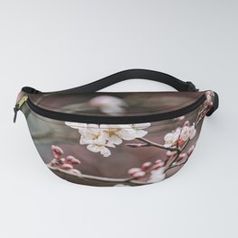 Pink Plum Blossoms Fanny Pack