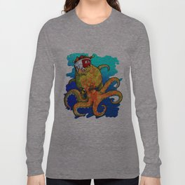 The Octopus and the Chicken Long Sleeve T-shirt