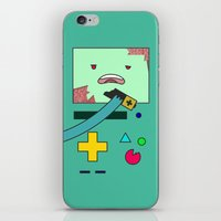 bmo iPhone & iPod Skins featuring Zom-BMO by Zeke Tucker