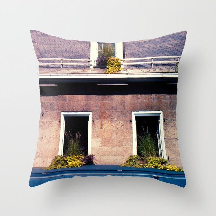 Signs: Jardin Nelson Throw Pillow
