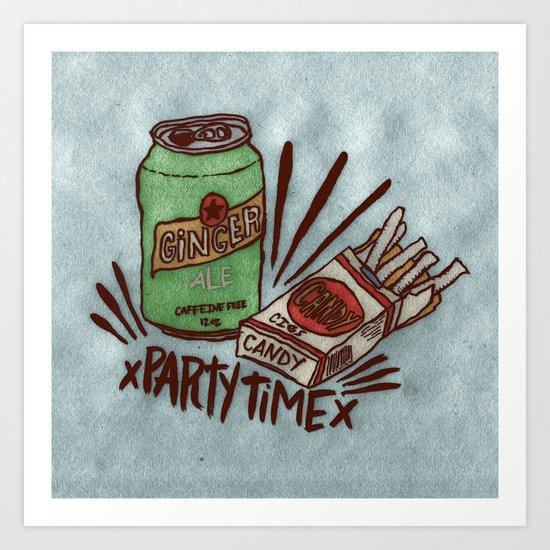 xPARTYTIMEx Art Print