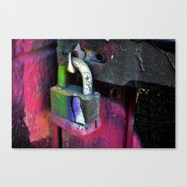 Locked Up Canvas Print