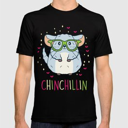 Chinchilla Shirt Pet Lover Gift T-shirt