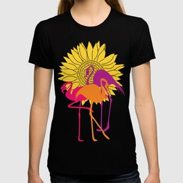 Colorful Flamingos T-shirt