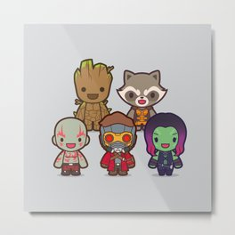 The Guardians Metal Print
