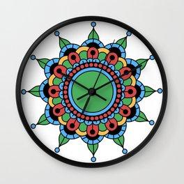 Digital Illusion Wall Clock