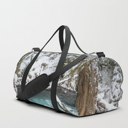 Adventure Awaits River - Pacific Northwest Nature Photography Duffle Bag