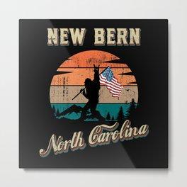 New Bern North Carolina Metal Print