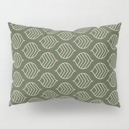 Olive Scales Pillow Sham