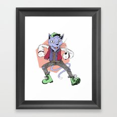Catnip Framed Art Print