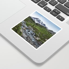 Edith Creek and Mount Rainier Sticker
