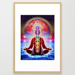 In Meditation Framed Art Print