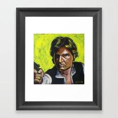 Han Solo Framed Art Print