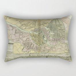 Berlin, Germany 1738 Rectangular Pillow