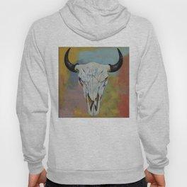 Bison Skull Hoody
