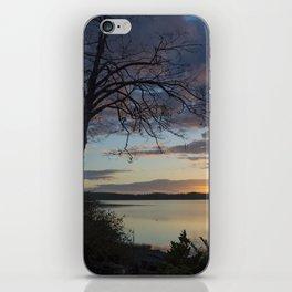 Lake Quinault Sunset, Washington iPhone Skin