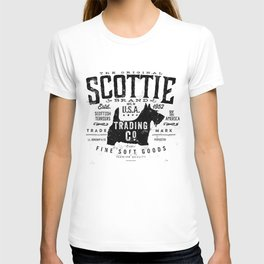 Scottie Trading company Scottish Terrier Dog soft goods vintage style graphic T-shirt