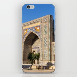 Registan square - Samarkand iPhone Skin